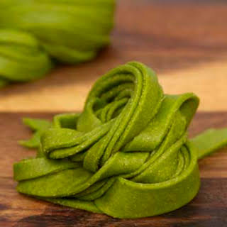 Whole Wheat Spinach Pasta.