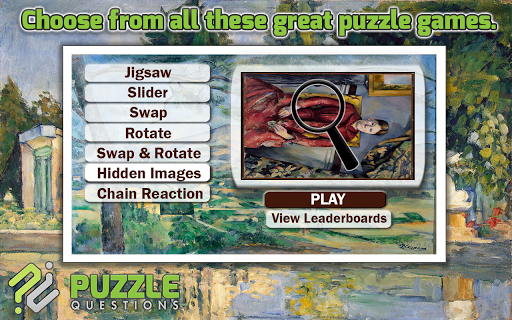 Art Puzzles: Paul Cézanne