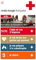 Screenshot of Croix Rouge, l'Appli qui Sauve