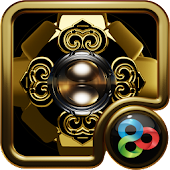GO Launcher Theme Golden Knigh