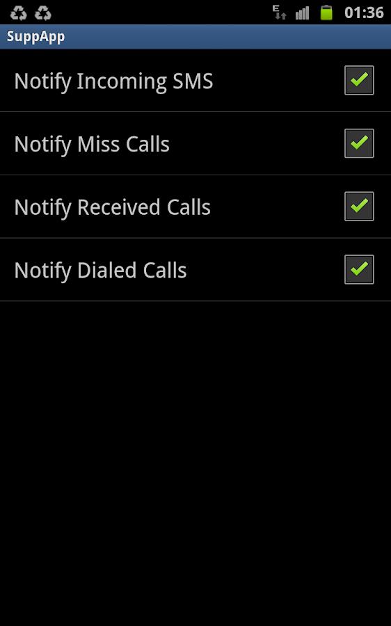 SuppApp Lite- screenshot