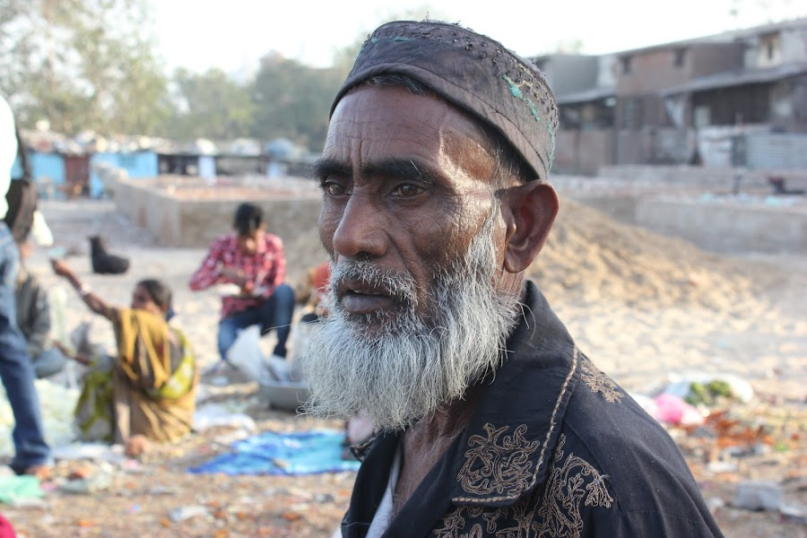 Portrait of man by Thakkar Mj - People Portraits of Men ( man portrait, street, india, portrait, man,  )