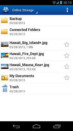 1&1 Online Storage apk screenshot 2