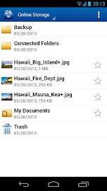 1&1 Online Storage Screenshot 2