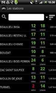 Go2 Rennes (bus, vélo, métro)– Vignette de la capture d'écran