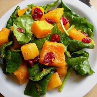 Roasted Butternut Squash Salad.