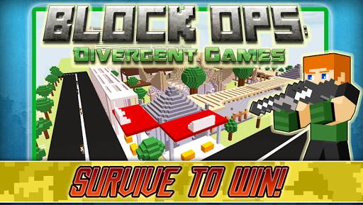 Block Ops: Divergent Games