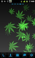 Screenshot of Weed Paper - Live Wallpaper