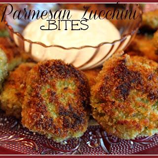 Shari's Parmesan Zucchini Bites!