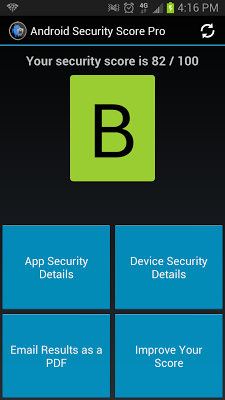 Security Score for Android - screenshot