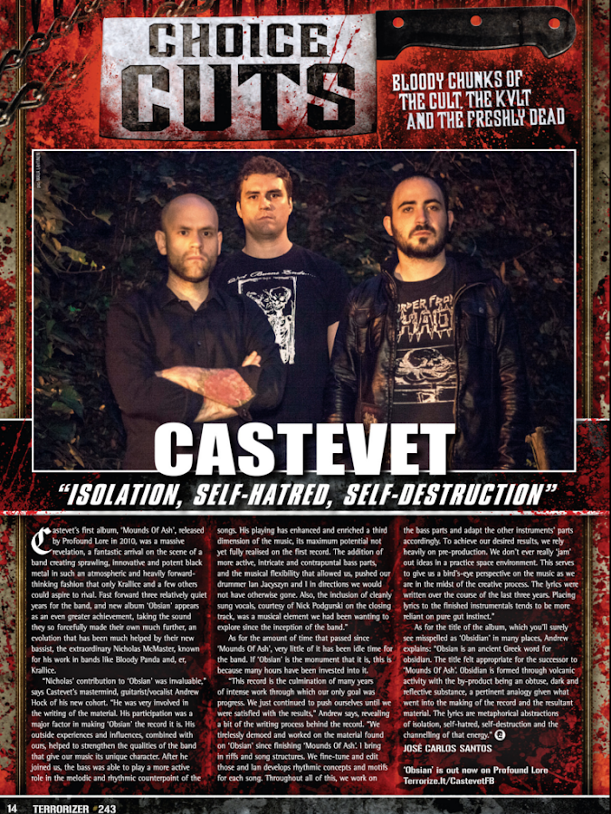 Terrorizer Magazine - screenshot