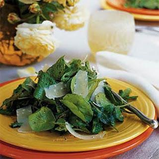 Arugula and Shaved Parmesan Salad