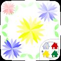 【無料】Flowerカーテン きせかえランチャーPRO icon