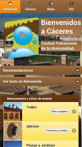 AudioCicerone de Cáceres