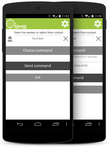 AndroidLost SMS client