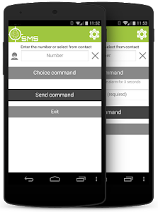 SMS client for AndroidLost screenshot 0