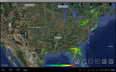 eRadar HD - NOAA Hi-Def radar screenshot 6