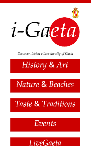 玩旅遊App|i-Gaeta_EN免費|APP試玩