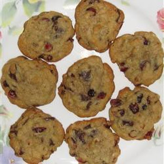 Very Cranberry Chocolate Chip Cookies.