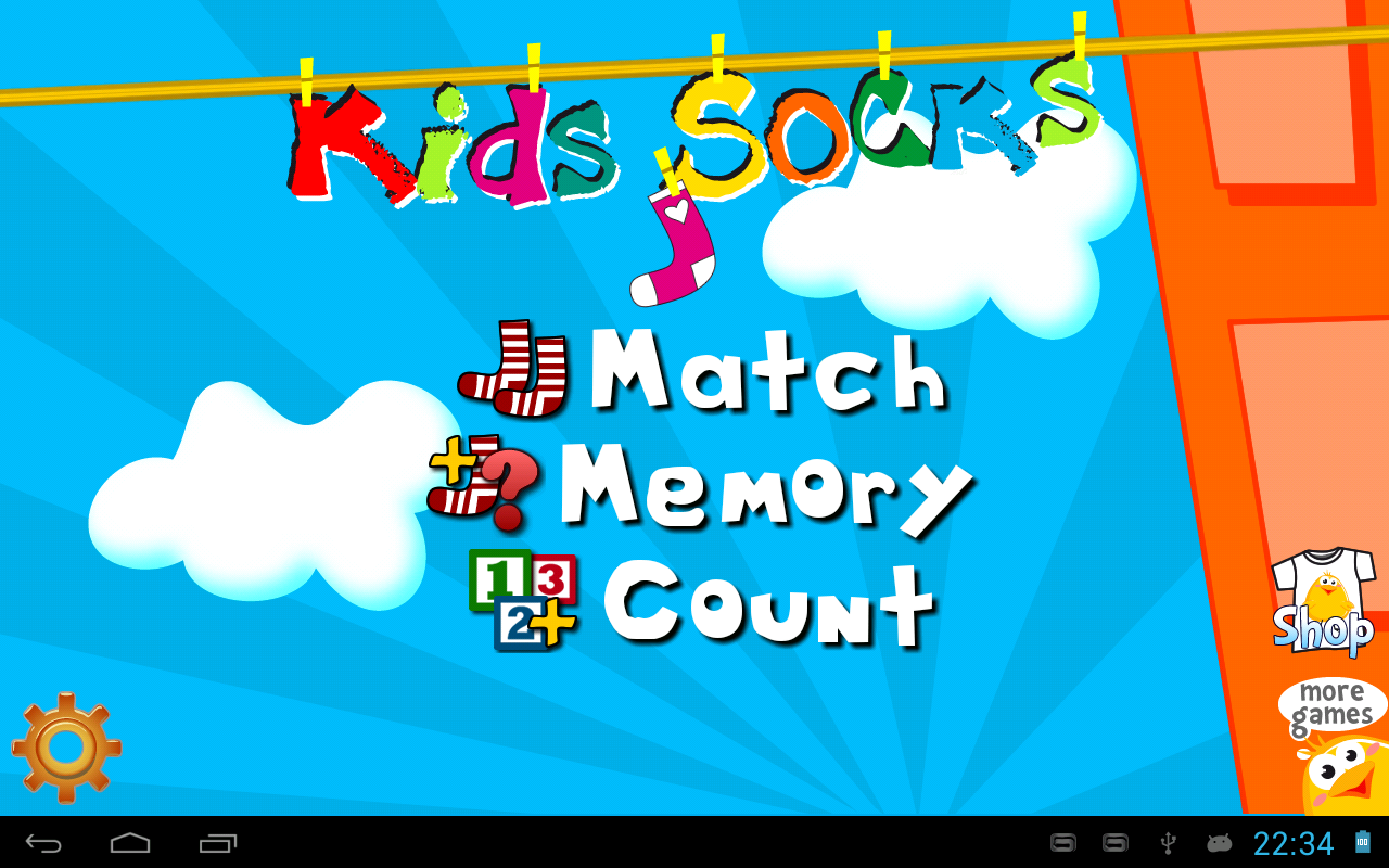 Kids Socks - screenshot
