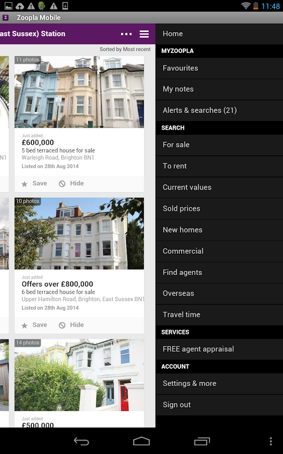 Zoopla Property Search UK - Home to buy & rent- screenshot