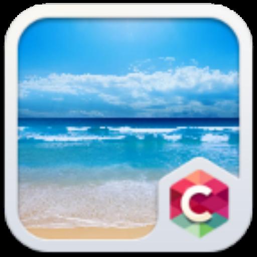 碧海蓝天主题 個人化 App LOGO-硬是要APP