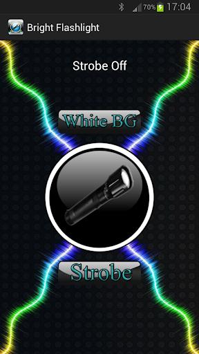 LED手電筒,頻閃火炬