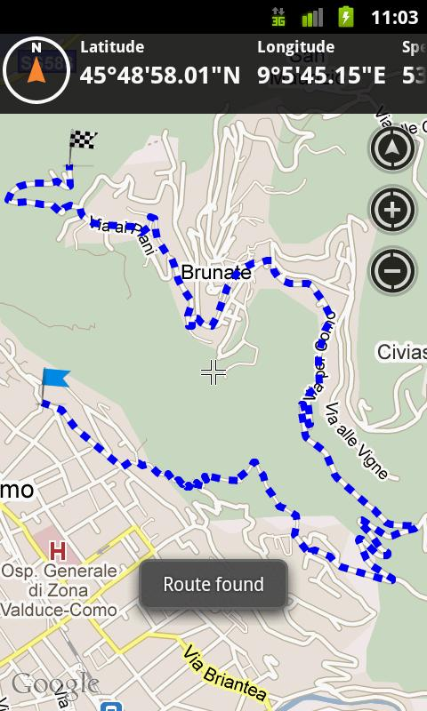 Outdoor Navigation Viewsonic - screenshot