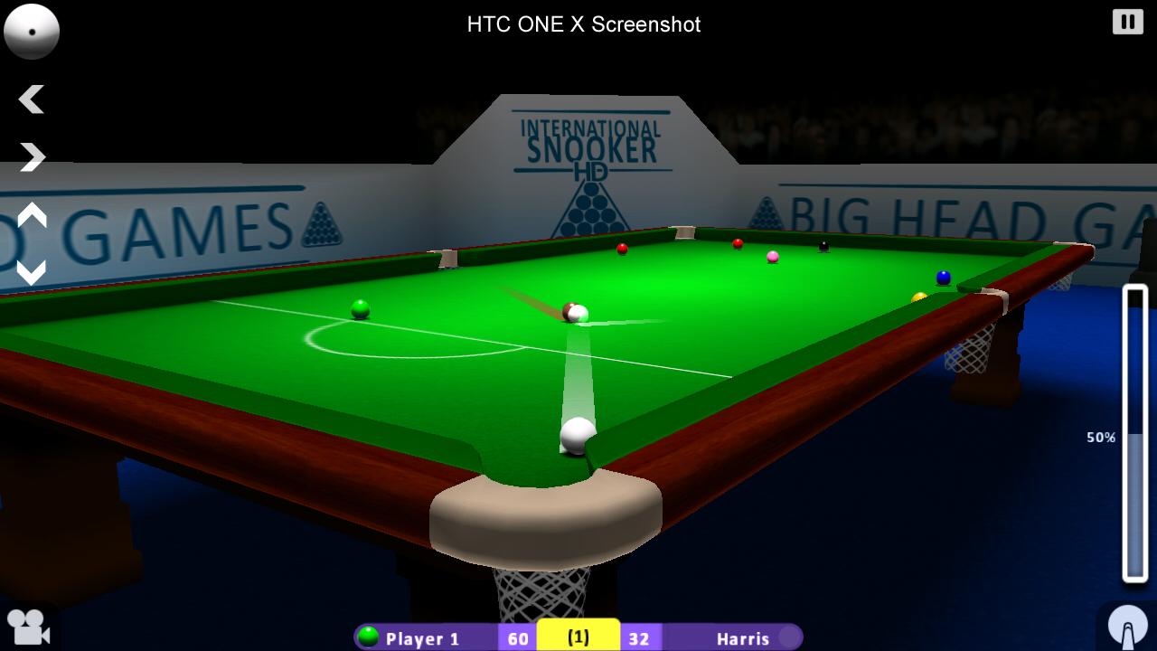 INTERNATIONAL SNOOKER- screenshot