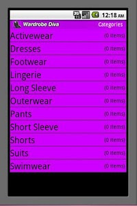 Wardrobe Diva screenshot 0