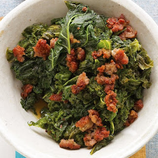 Kale with Sweet Sausage.