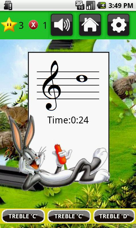 Pro - Musical Notes Flash Card- screenshot