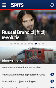 Spitsnieuws - screenshot thumbnail