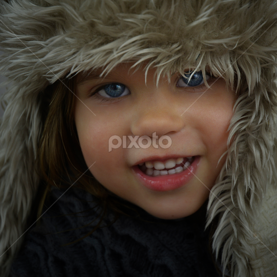 Fluffy warm hat by Lucia STA - Babies & Children Toddlers