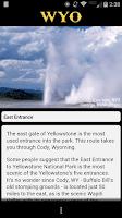 Screenshot of GoExplore WYOMING!