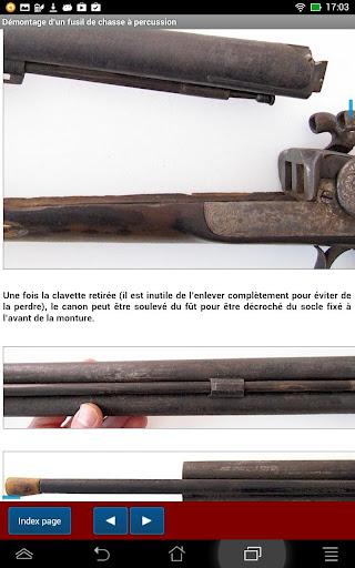 Fusils à percussion et broche