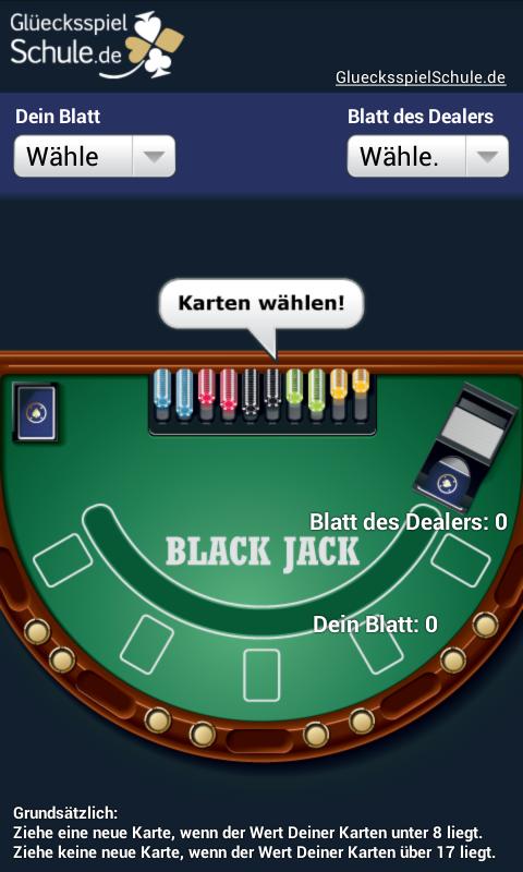black jack strategie deutsch