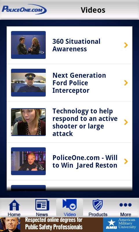 PoliceOne - screenshot