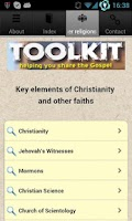 Screenshot of Evangelism Toolkit