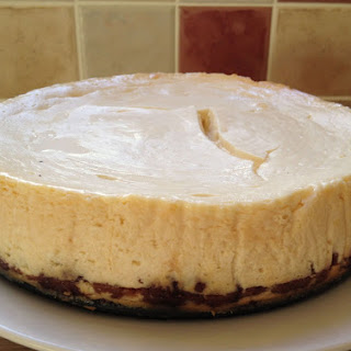 Lime-Chocolate Cheesecake