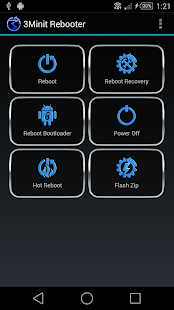 3Minit Rebooter (Root)- screenshot thumbnail