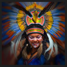mexico fiesta by Jim Knoch - People Portraits of Women