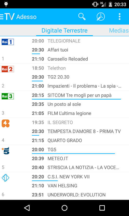 Guida Tv- screenshot