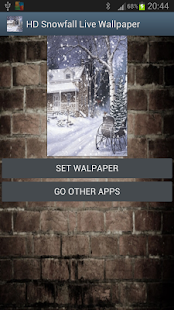 HD Snowfall Live Wallpaper1