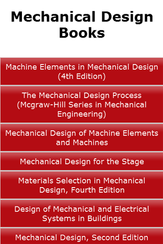 Mechanical Design Books