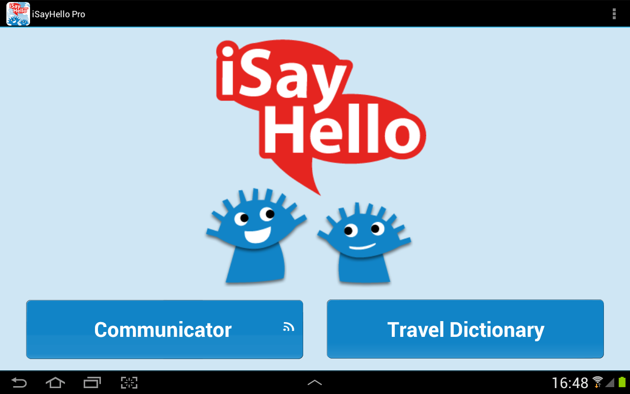 ISayHello Communicator Pro- screenshot