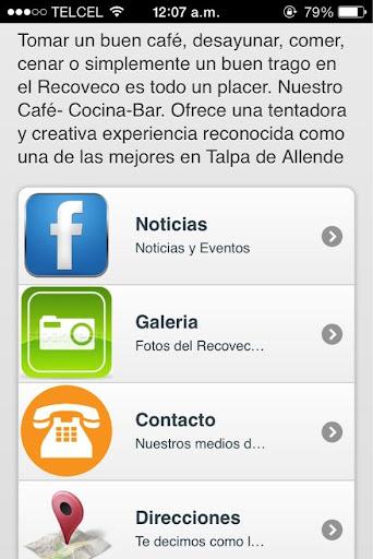 Recoveco Cafe Bar