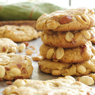 Roasted Peanut Peanut Butter Cookies Recipe