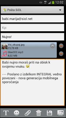 E-posta Integral - screenshot