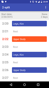 Workout Routine- screenshot thumbnail